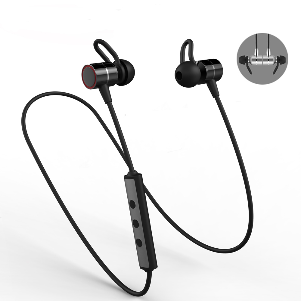 a0eb83b68ea Dofeel New S60 Stereo Magnetic Earphone Neckband Bluetooth Headphone  Wireless Sports Headset Running with Mic for