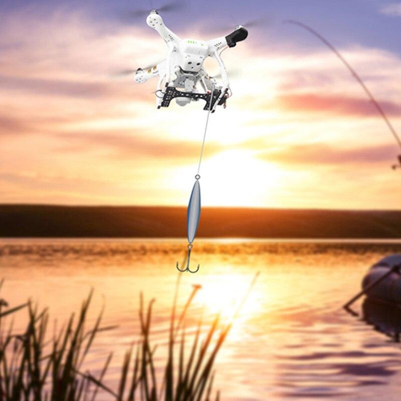Shinkichon Pelter Esche Da Pesca Da Sposa Dispositivo Kit Lanciatore per DJI Phantom 2/Phantom 3 Standard Drone Accessori