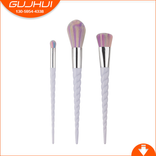 3 Unicorn Makeup Brush Sets, Beauty Tools, Powder Brush, Blush Brush Thread, GUJHUI 12 unicorn makeup brush sets beauty tools make up powder brush sets brush gujhui