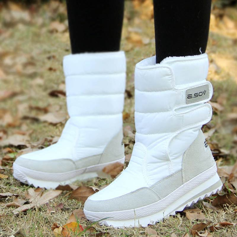 Winter Women Boots Fashion Girls Ankle Snow Boots Ladies Plush Insole Thick-Soled Waterproof Shoes For Woman Warm Botas MujerWinter Women Boots Fashion Girls Ankle Snow Boots Ladies Plush Insole Thick-Soled Waterproof Shoes For Woman Warm Botas Mujer