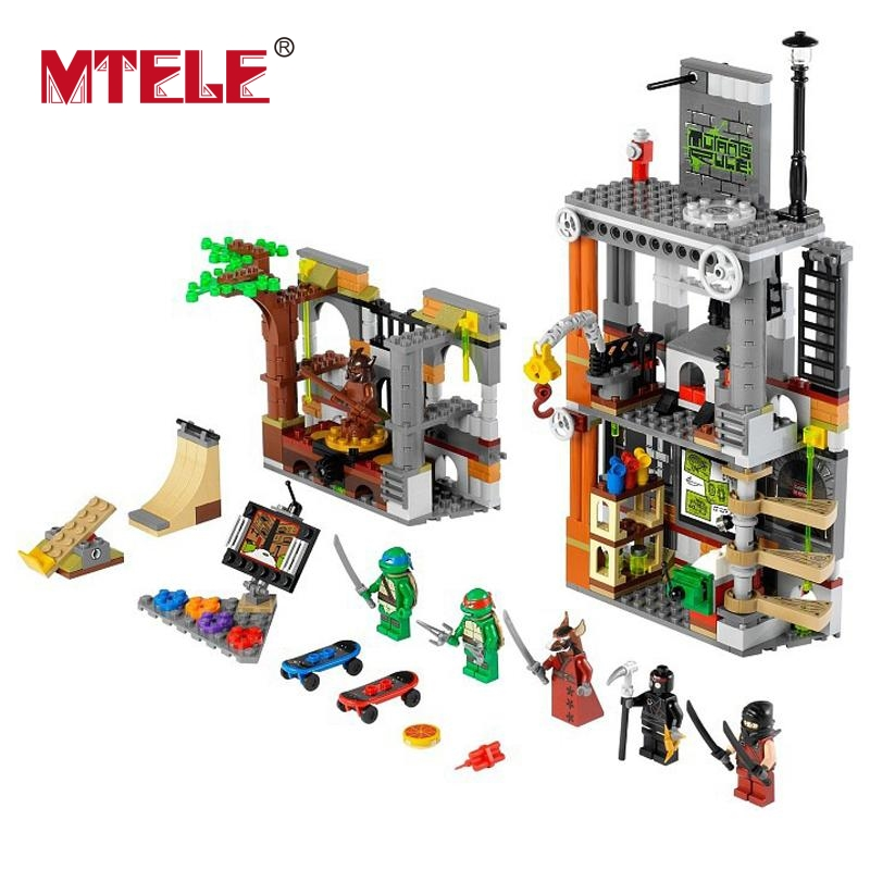 MTELE 499 Pcs BELA Ninja Lair Attack New Movie Kids Toys figures Building Blocks Birthday Gift Compatible With Lego And Lepin dali 14 1 5в