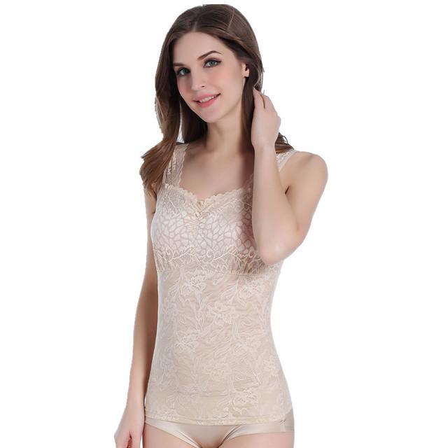 PRAYGER Women's Waist Tummy Control  Body Shaper Vest Tank Top Underwear Underbust Slimming Shapewear Corset Bustiers Lace