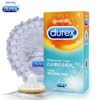 12 Pcs /Box Durex Condoms Extra Lubricat Ribbed Spiral Spike Cool Feeling Condoms Sex Products Sex Toys For Men Juegos Sexuales