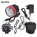 WasaFire 22000lm передняя фара для велосипеда 15 * T6 светодиодная фара для велосипеда аксессуары для велоспорта ходовая лампа