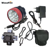 WasaFire 22000lm Bike front Light 15* T6 LED Light Bicycle Light Led farol bike Headlight Lamp cycling Accessories running light
