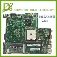 For Lenovo Z485 DALZ2CMB8E1 laptop motherboard lenovo motherboard Z485 mainboard video card Test