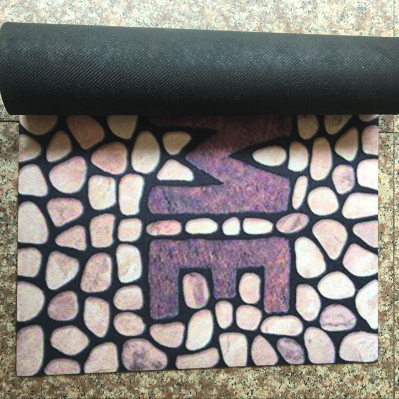 and coir mat madras rubber sorrento x bayliss link doormat black circle door