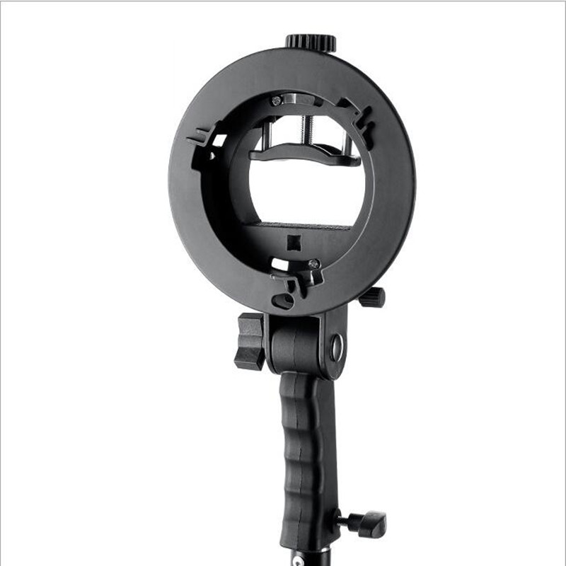 S-Type Flash Speedlite Bracket Mount for Softboxes Reflectors Beauty Dishes
