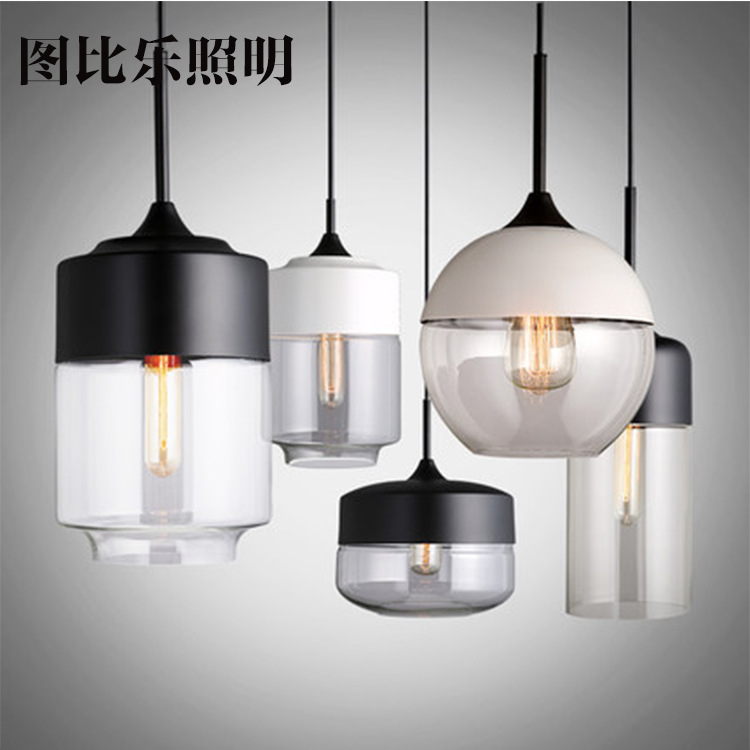 Vintage Nordic Brief Handmade Clear Bubble Glass Ball Led E27 Pendant Light For Dining Room Living Room Bar DecoVintage Nordic Brief Handmade Clear Bubble Glass Ball Led E27 Pendant Light For Dining Room Living Room Bar Deco