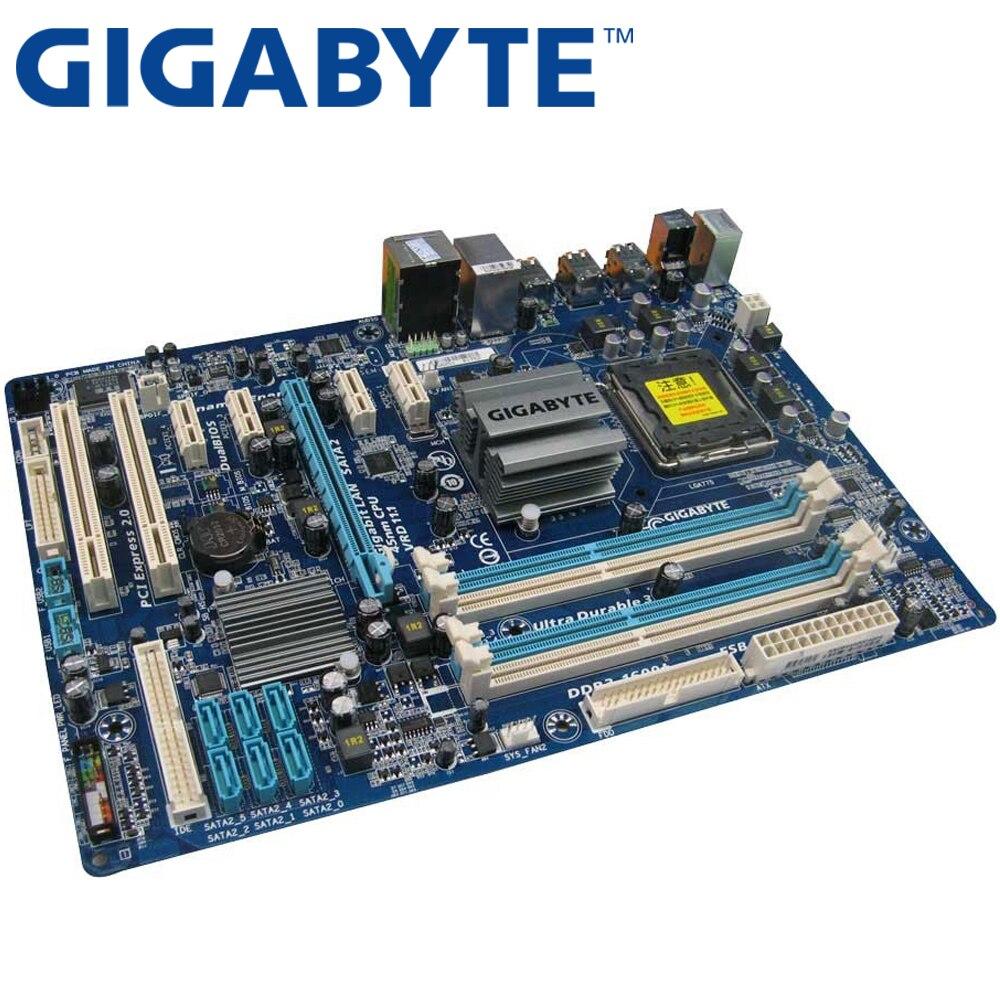 GIGABYTE Desktop P43-Socket Lga 775 GA-EP43T-S3L Ddr3-16g Used for Core 2-Pentium/d ATX