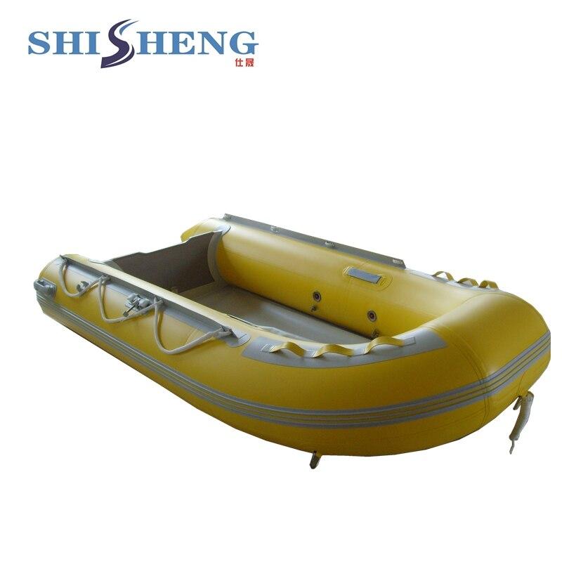 Bateau gonflable de pêche d'individu de bateau à rames de petite pagaie d'eau matérielle de PVC - 4