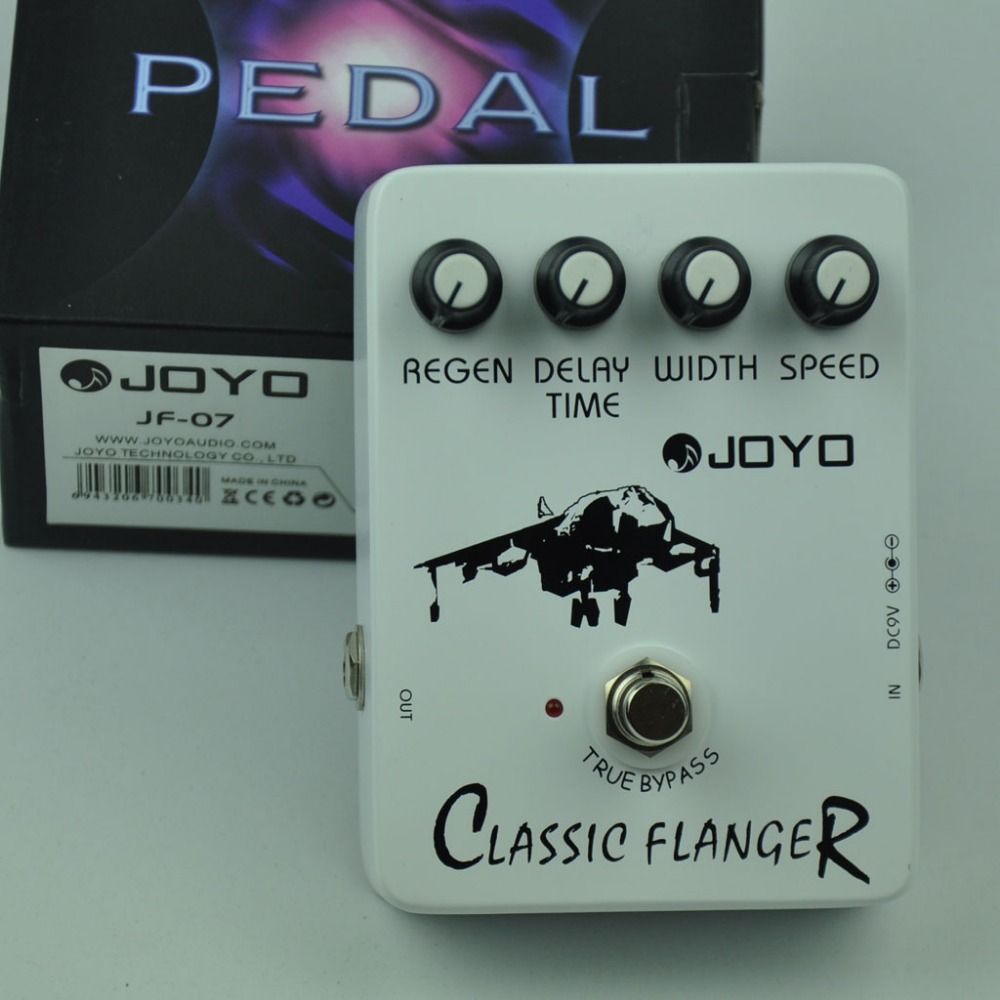 JF-07 Classic Flanger Guitar Effect Pedal jf