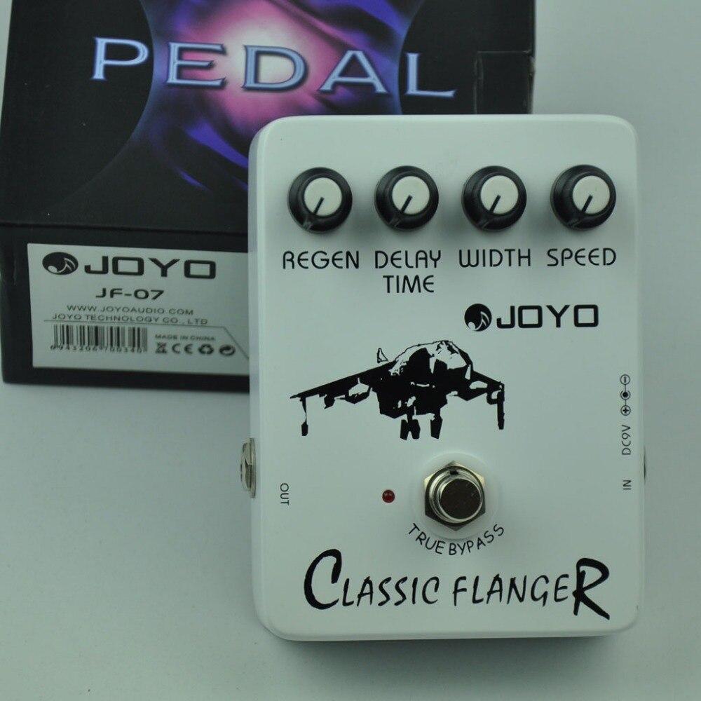Pédale d'effet guitare Flanger classique de JF-07