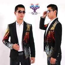 Мужские костюмы Дизайнерские Сценические для певцов мужские