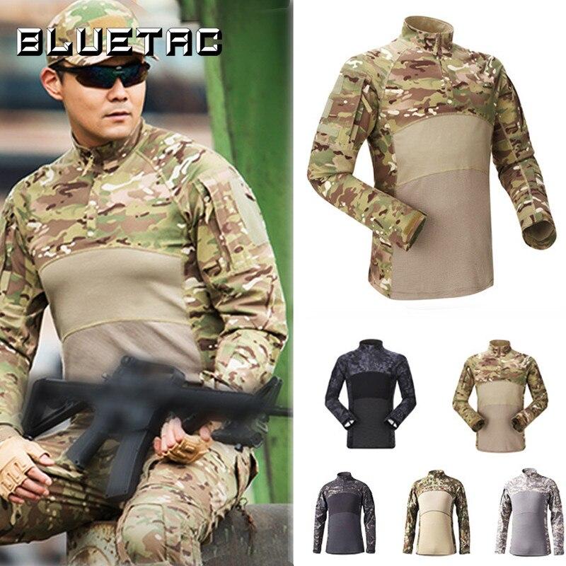 Tactical Frog Suit Long Sleeve Suit Cotton Outdoor Combat Jacket Mesh Breathable Camouflage Suit