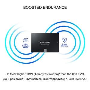 Image 4 - Unidad interna de estado sólido Samsung 860 EVO, disco duro HDD HD de 250GB SATA 3 de 2,5 pulgadas y 500GB HDD, 1TB SATA III SSD para ordenador