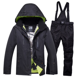 2018 NEW Lover Men And Women  Windproof Waterproof Thermal Male Snow Pants sets Skiing And Snowboarding Ski Suit men Jackets