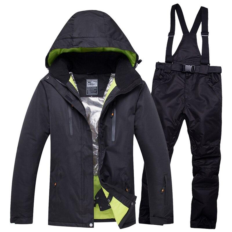 2019 nouveau amant hommes et femmes coupe-vent imperméable thermique mâle neige pantalons ensembles Ski et snowboard Ski costume hommes vestes