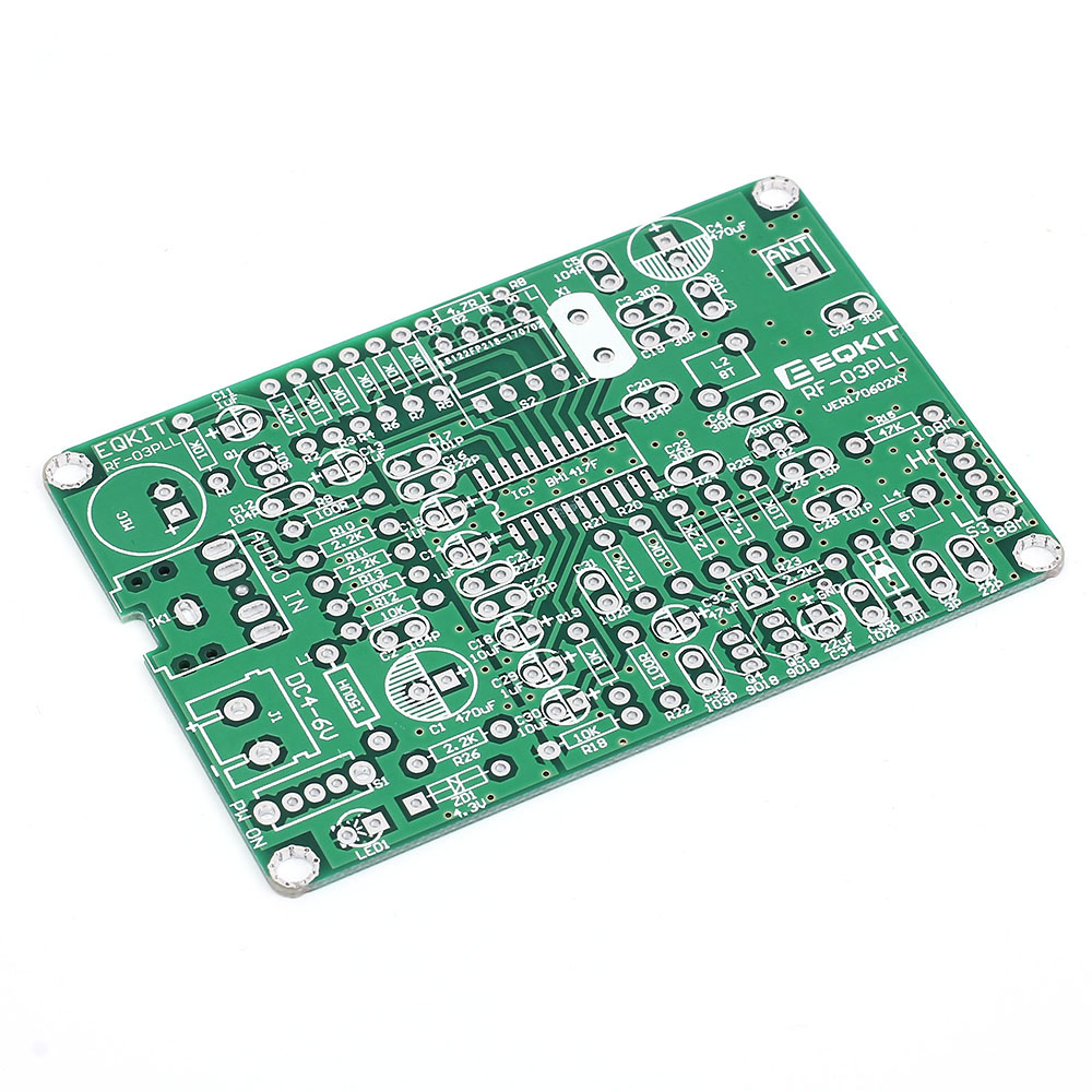 87 108mhz Fm Frequency Modulation Wireless Microphone Module Diy How Do I Calculate The Of An Transmitter Circuit Board Parts Stereo Dc 4 6v In Integrated Circuits From