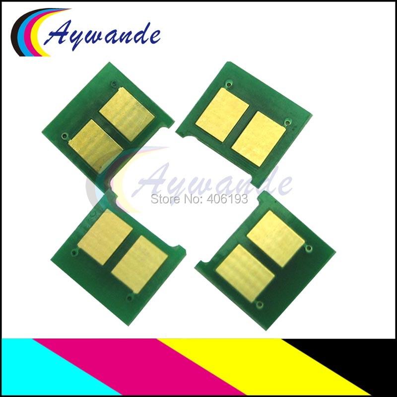 8x Cb540a Cb541a Cb542a Cb543a Chip Für Hp Cm1312 Cp1215 Cp1217 Cp1514 Cp1515 Cp1518 1312 1215 Laser Toner Patrone Reset Chip