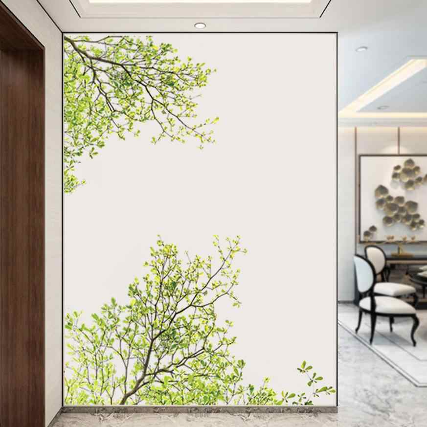 Home Decor Nature Leaves Home Household Room Wall Sticker Mural Decor Decal Removable New wall sticker Home Deco mirror AU2