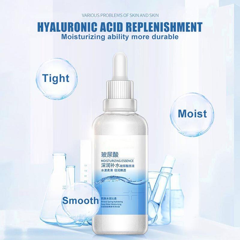 Hydration Skin Care: Face Skin Care Hyaluronic Acid Hydrating Liquid Soft Skin