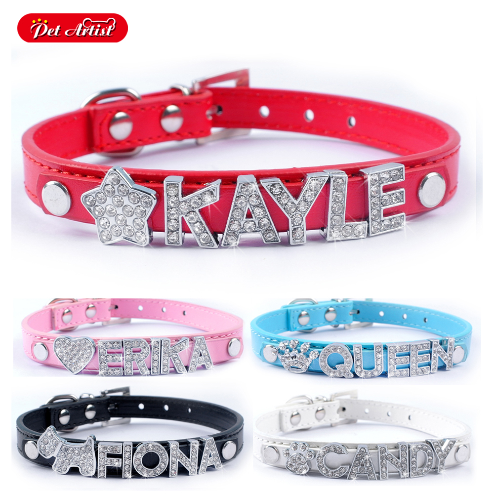 5 Colors Personalized Dog Pet...