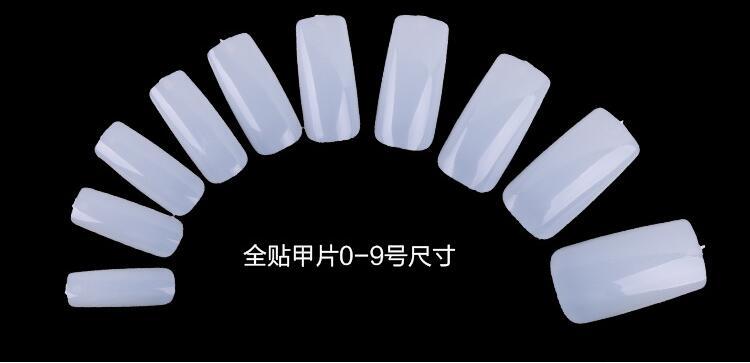 etiqueta placa de plástico como a beleza nail art salon ferramenta