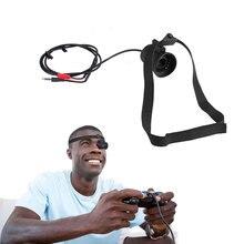 DIY 80 Inç 854x480 Monoküler Mikro LCD Displayer Kulaklık Gözlük Desteği AV Giriş FPV Monitör Gözlük Için RC yarış Drone B4
