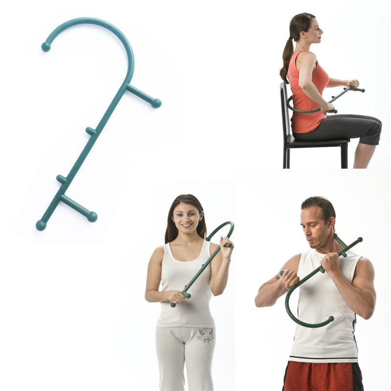 Body Massager Muscle Pain Use Trigger Point Massage Tools Deep Pressure Thera Cane -1367