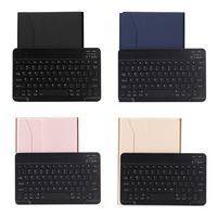 Wireless Bluetooth 3 0 Keyboard Case Cover Stand PU Leather Keyboard Case Rechargeable Keyboard For IPad