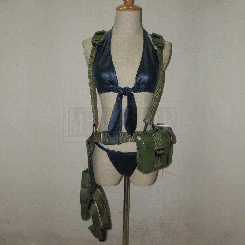 Metal Gear Solid V Venom Snake Quiet Cosplay Costume Custom Made