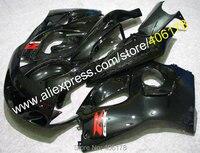 Лидер продаж, все Черный для SUZUKI GSXR600 GSX R750 1996 1997 1998 1999 2000 GSXR 600 750 96 97 98 99 00 обтекателя комплект мотоцикла тела