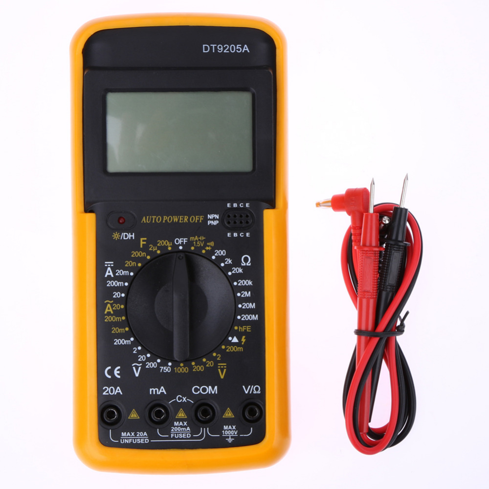 Simpson Electric Ac High Voltage Probe : High quality digital ac dc lcd multimeter voltmeter