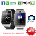 Dispositivos Portátiles de Aplus GV18 Reloj Inteligente Bluetooth Sim Smartwatch para iPhone IOS Android Windows Phone Smartfone Whatch Smartwach