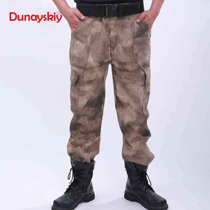 גברים צבאי מכנסיים אחיד טקטי Combat מרובה צפצף Tatico בגדי מדים טחונים שחור פיתון Bottoms ציד בגדים