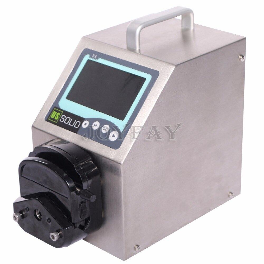 Pompe péristaltique solide américaine V1   1 canal de distribution YZ2515x 0.017 - 435 ml/min par canal, Certification CE, garantie de un an