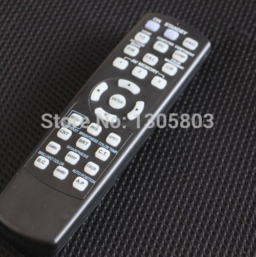 Original Projector remote control for MITSUBISHI projector GX 320ST XL30U LX 5280 GX 314 GX 6400