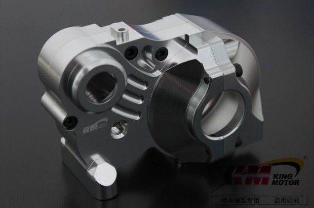 Baja CNC alloy Complete 3 piece Transmission gear box set Fits HPI Baja 5B, 5T, SS, 2.0 buggy sand paddle wheels fits hpi baja 5b ss 2 0