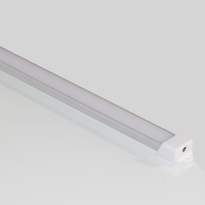 10pcs*50cm U type Slim LED aluminum profile for led bar light cabinet light wardrobe light display counter