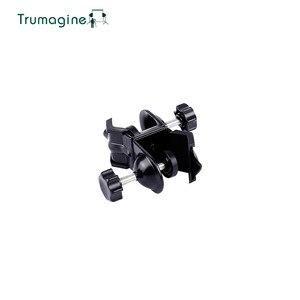 Image 4 - TRUMAGINE זוגי Heavy Duty מהדק C U קליפ תאום עבור אביזרי תמונת סטודיו אור stand עבור ירי צילום סטודיו פלאש