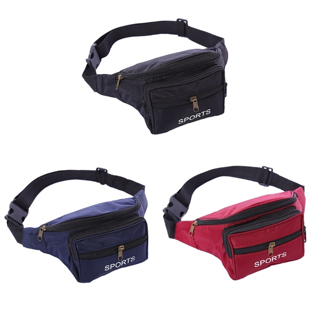 e01502735d THINKTHENDO Women MenUtility for Cycling Waist Fanny Pack Fashion Belt Bag  Travel Hip Purse Bags -in Waist Packs from Luggage   Bags on Aliexpress.com  ...