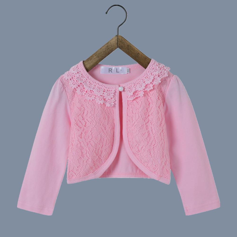 ᑐRL 2018 chicas chaquetas para Weddins moda niñas abrigo Rosa ...