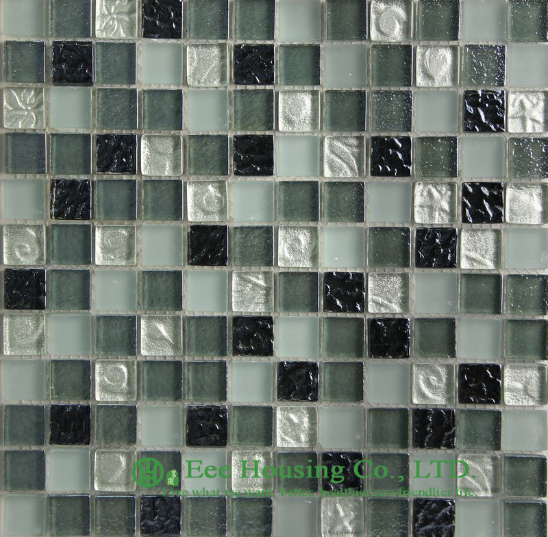 High And Low Temperature Resistance Crystal  Mosaic Tile Factory, For Indoor And Outdoor Walls