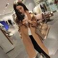 Venda final max designer da marca das mulheres casaco de lã de inverno camel lã extra-longo imitação cashmere casaco quente solta outerwear
