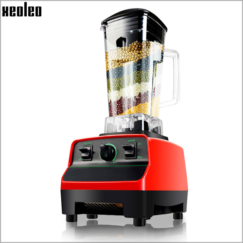 Xeoleo Commercial Blender Food blender 2200W 28000rpm Food mixer food processors Juicer 220V Smoothie maker Blend mixer BPA FREE xeoleo 2l heavy duty commercial blender food greater material 2000w food processing machine with pc jar juicer mixer bpa free