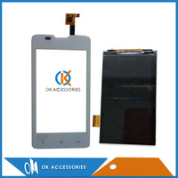 100 Guarantee For Fly IQ449 IQ 449 Touch Screen Digitizer Black White Color1PC Lot Over 15PCS