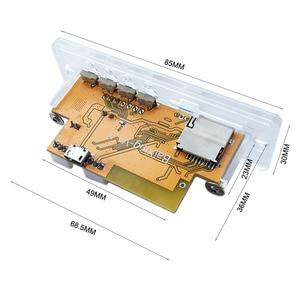 Image 3 - 5 V/12 V APP Kontrolü Bluetooth 4.2 MP3 Çözme devre kartı modülü TF Kart USB FM APE FLAC Dekoder Kartı dijital Eller Serbest