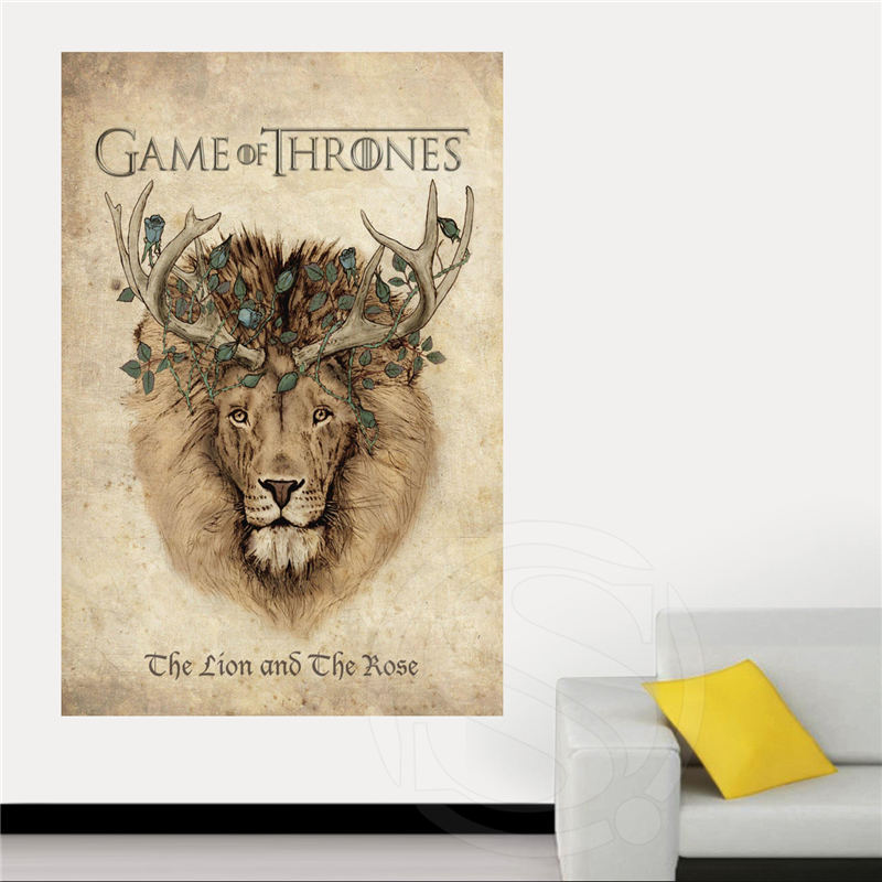 Us 5 75 28 Off Game Of Thrones Canvas Silk Poster For Home Decor Custom Print Painting Art Picture Sq0516 Zhh In Painting Calligraphy From Home