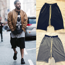 19ss Kanye West Justin Bieber Shorts Men Women Best Quality Summer Loose Sports Five-point Short Streetwear